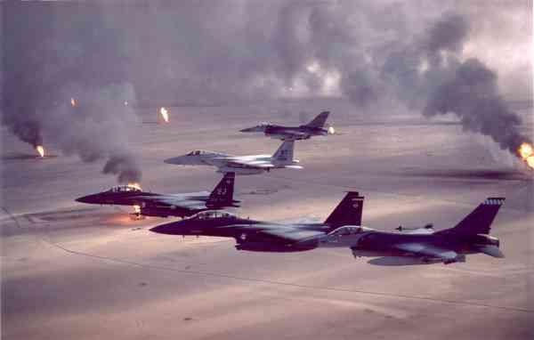 Desert Storm US Air Force