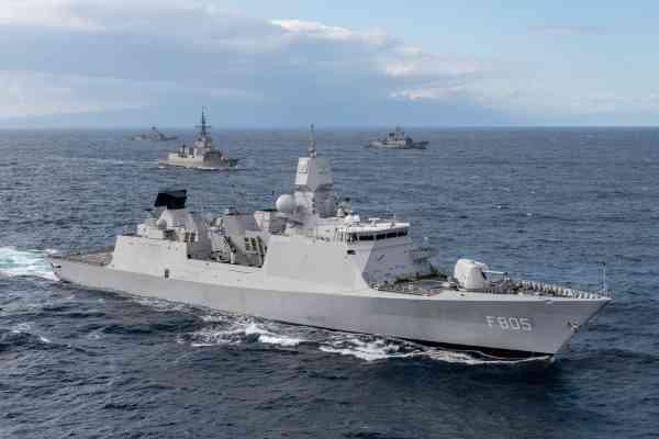 Zr Ms Evertsen Photo NATO