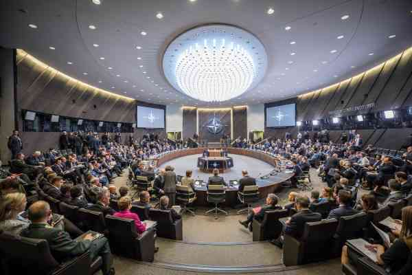 Noord-Atlantische Raad Foto NAVO