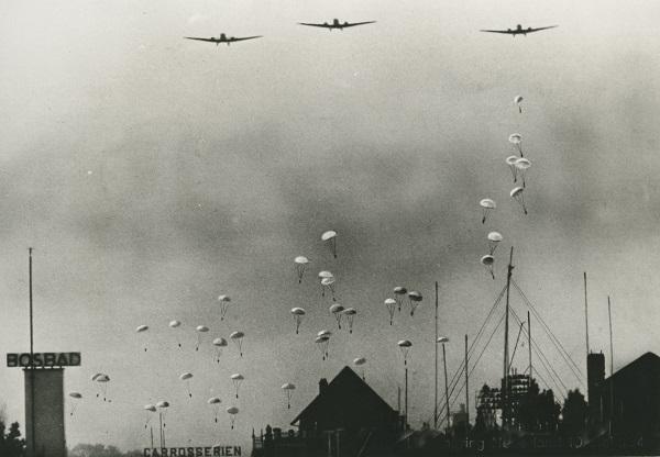10 mei 1940 Fallschirmjäger Den Haag