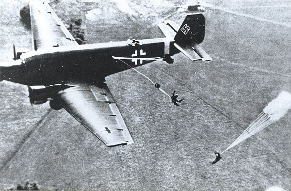 10 mei 1940 Fallschirmjäger