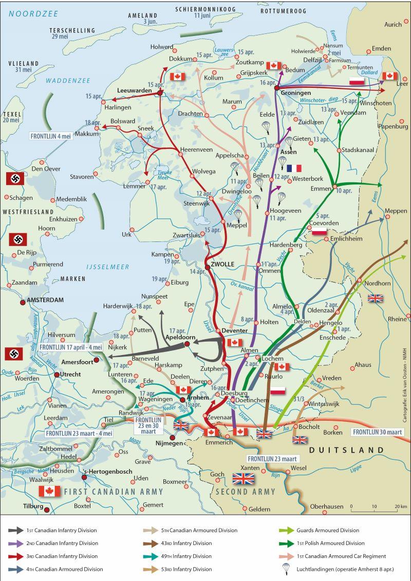 Cartografie Erik van Oosten NIMH