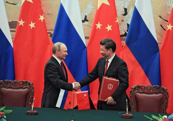 Putin Poetin Xi Ping