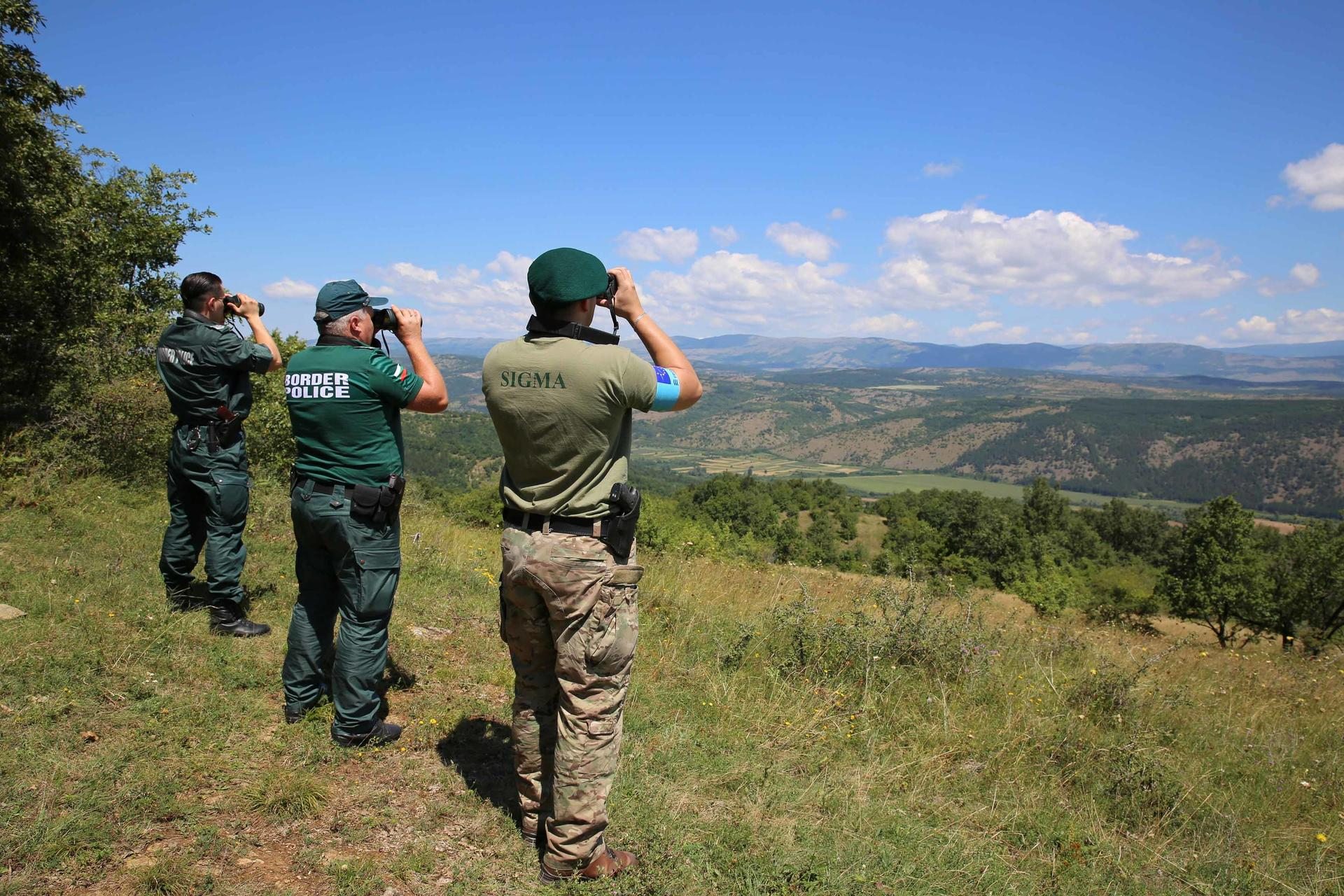 Frontex border Bulgaria